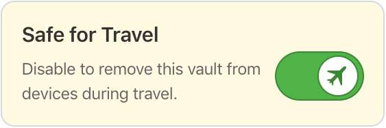 1Password Travel Mode - Ryve Blog