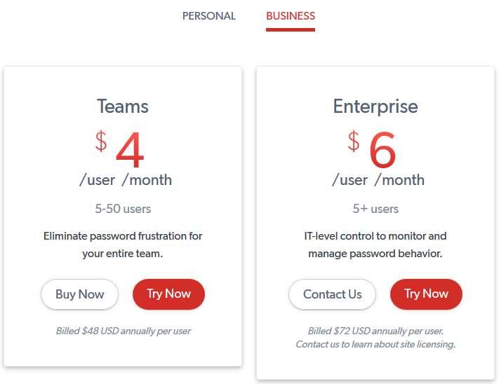 LastPass Business Costs - Ryve Blog
