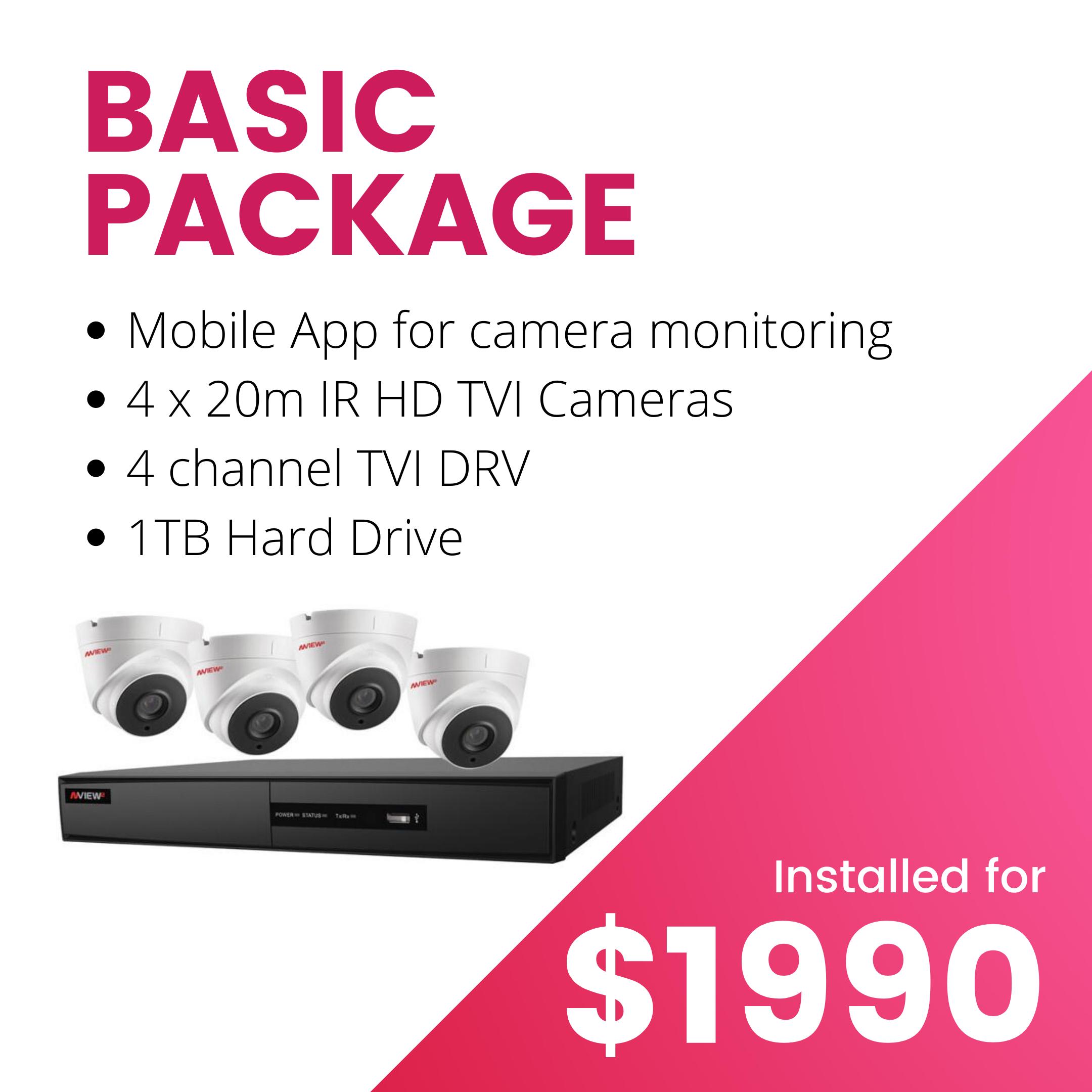 Ryve Camera Basic Package