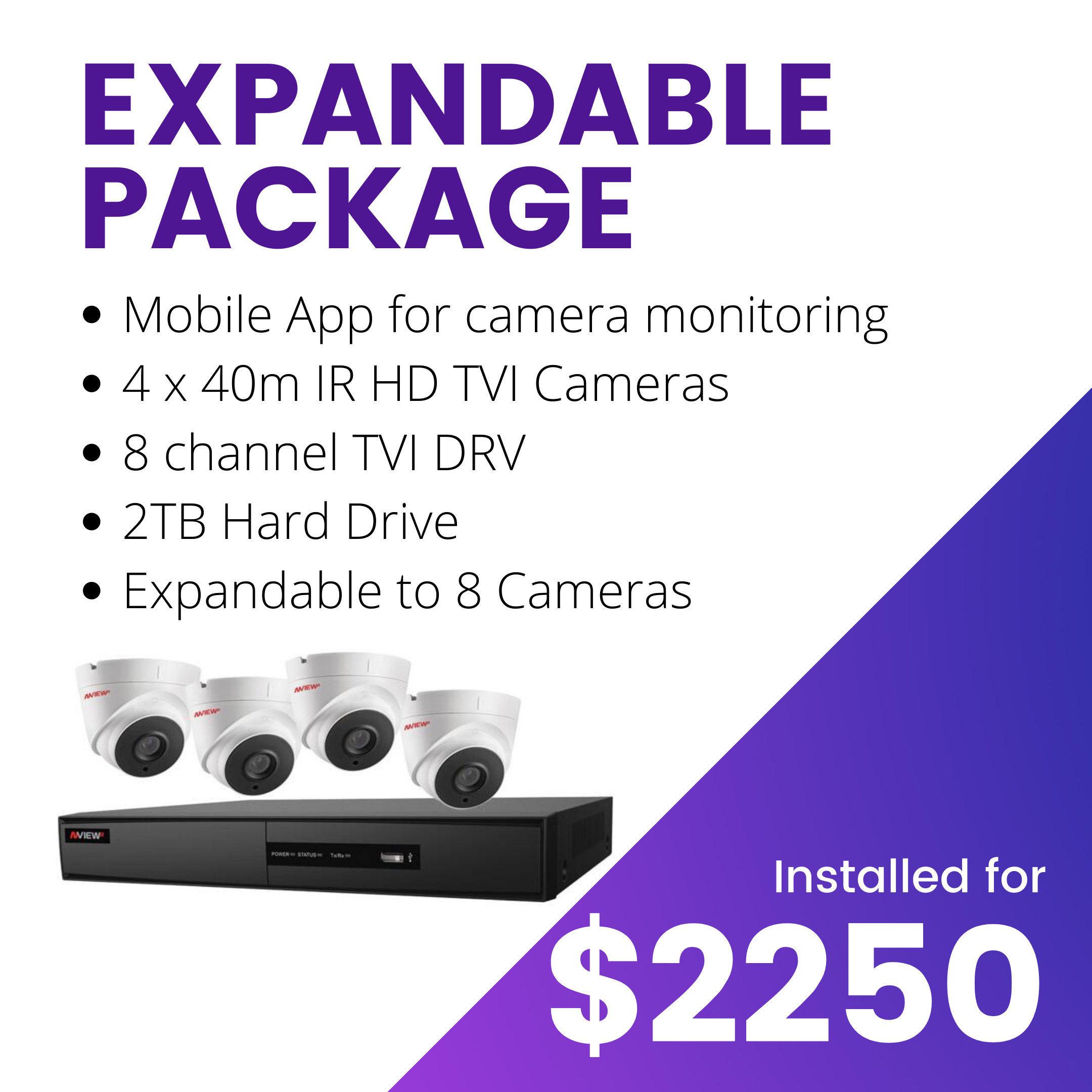 Ryve Expandable Camera Package