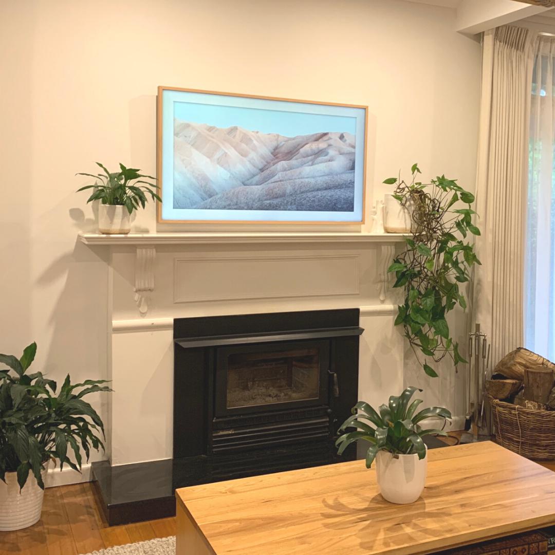 Wall Mounted Samsung Frame TV